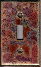 Autumn color images switch plate cover
